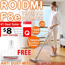 【1+1】❤FREE ANTI DUST MITE ❤Xiaomi  Roidmi F8e cordless vacuum cleaner easy Mijia Handheld Vacuum