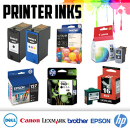 ★ DELL / Canon / HP / Brother / Lexmark / Epson Printer ink cartridge ★ HIGH Capacity ★ USA Ink
