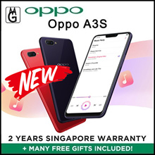 Oppo A3S Local 2yrs Official Warranty / 3gb ram / 32gb rom / Cases and Screen Protector Include