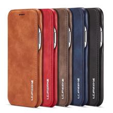 iPhone X、8/8 Plus、7/7 Plus Retro business leather Case Cover