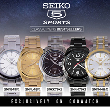 Seiko 5 Automatic Mens Ladies Casual Watches (With Nato or Leather Strap)