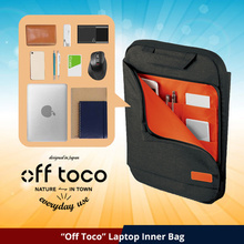 ★ELECOM Japan★ | OFF TOCO Sleeve | Laptop Inner Bag / Laptop Bag / Laptop Case / Up to 13.3 inch