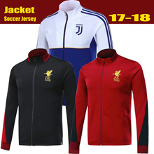 ★2017/18  Long sleeve Football Soccer Jersey /HOODIES/jacket/coat/Men Football Jersey