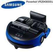 Samsung Powerbot VR20K9000UB Power Smart Easy Power Vacuum Twin Cyclone (Cyclone Force) Charging tim