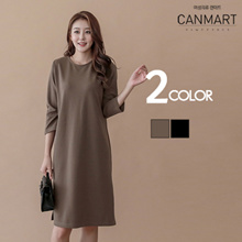 [CANMART] Side Slit MODOO Dress_one piece_C082312