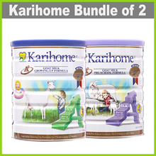 [KARIHOME] 900g Goat Milk Powder ★ From New Zealand ★ for Kids 12m+ or 3yo+ ★ BUNDLE OF 2
