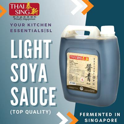 TOP QUALITY Light Soya Sauce - 5L