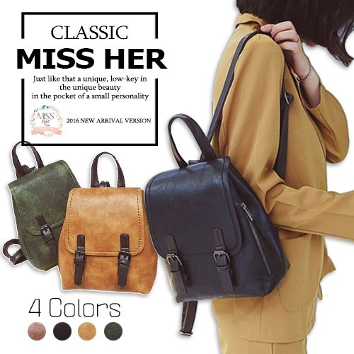 ?FREE QXPRESS?Premium Quality PU Leather Woman Backpack School Bag Lady Bag Shoulder Bag LB-CH05 Deals for only S$59.9 instead of S$0