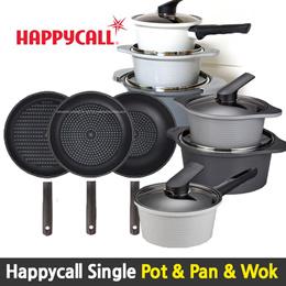 HappyCall Best Ceramic IH Diamond Cooking Pot Wok  Frying pan series / Cookware
