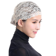 CODETIK New Muslim Hijab Ninja Underscarf Islamic Cover Bonnet Hat Cap wcmkC-180111001B09