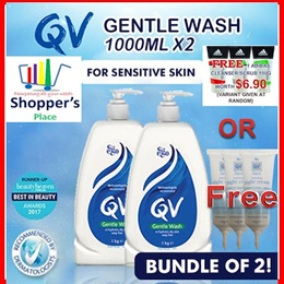 QV Gentle Wash FOR SENSITIVE SKIN 1L x 2/Cream/Lotion/Clenasing Oil