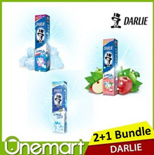 [DARLIE] ★ 2 +1 Bundle Toothpaste (140g x 2 + 90g) ► Save 20% ★ All Shiny White New Formula