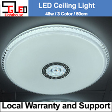 48W / SL [Warehouse Sales] LED Ceiling Light / Local Warranty / 3 colour / Remote / LED Lighting