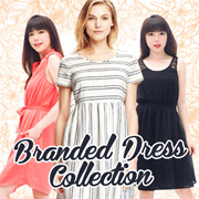 NEW STYLE ADDED!!LIMITED**PREMIUM DRESS-AUTHENTIC/ASLI 100%**Tersedia12model**Womens Dress/Cocktail Dress/Casual Dress