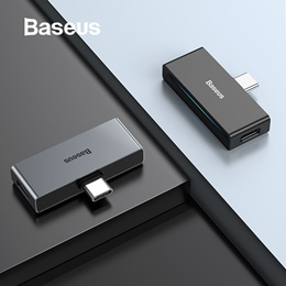 Baseus L57 USB Type c Adapter usb c to 3.5mm aux Earphone Headphone adapter with PD 18W Quick Chargi