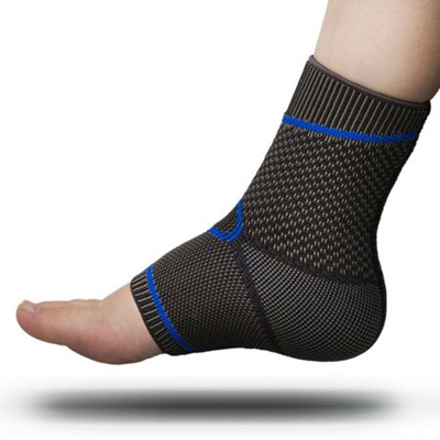 12fe4fe8f0 Premium Foot Sleeve and Ankle Brace Compression Support by FOMI Care |  Stabilizing Sock Wrap for