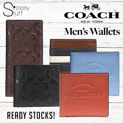 Qoo10 Coach Wallet Men S Bags Shoes