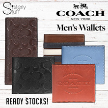 AUTHENTIC COACH MENS WALLET