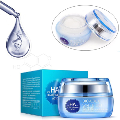 BIOAQUA Hyaluronic Acid Day Creams Whitening Skin HA Anti Aging Anti Wrinkles Improve Dry Skin Moist
