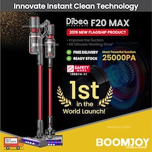 [LOCAL WARRANTY] F20 Max Cordless Vacuum Cleaner 2019 New Arrived