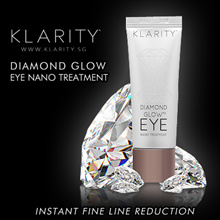 KLARITY Diamond Glow Eye Nano Treatment - INSTANTLY REDUCE EYE BAGS AND DARK CIRCLES