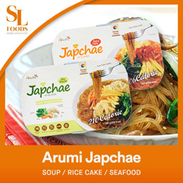 Arumi Japchae - Original Japchae / Spicy Japchae / Cheese Spicy Japchae / Frozen