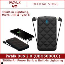 Quube Promo iWalk UBO3000LC-black power bank