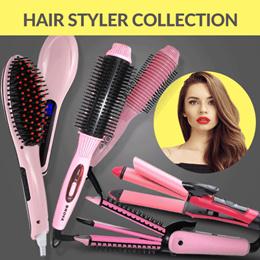 [BEST SELLER] MAGIC HAIR BRUSH COMB HAIR STRIGHTENER - CATOK SISIR 2 IN 1