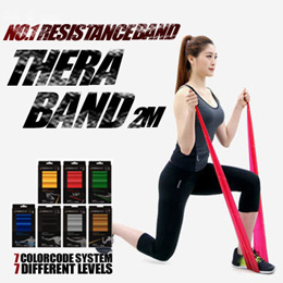 [THERA-BAND] 🌈NO.1 RESISTANCE BAND / YOGA / FITNESS / INDOORSPORTS / Chirstmas