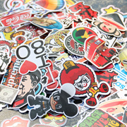 Stickers A4 size Decoration PVC Sticker for phone/laptop/tablet/car/baggage/scrapbook/luggage