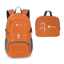 FLYCOOL 35L Lightweight Foldable Durable Travel Hiking Backpack Daypack