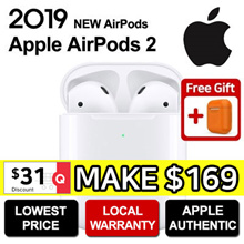 **SG Apple Warranty** ★ Apple AirPods Gen 2 Wireless Bluetooth Earphones ★ Genuine Apple