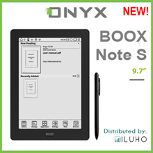 ONYX BOOX Note S 9.7 Inch E Ink Screen Anti-Glaring Android Tablet with Wacom Stylus Pen +Free Cover