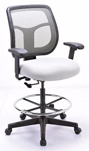 Eurotech Seating Apollo Mesh Back Drafting Stool