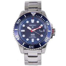 SNE435P1 SNE435P SNE435 Seiko Prospex Padi Solar 200m Stainless Strap Male Casual Watch