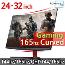 [AdvanceOne]32inch 165Hz Curved Gaming Monitor  Free Gift Power cable Free