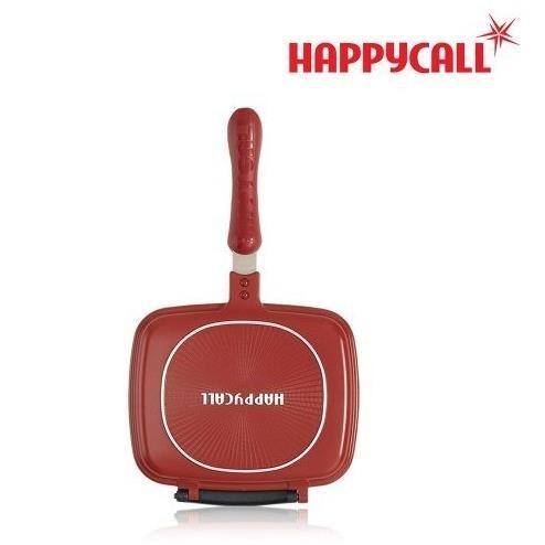 【韓國HAPPYCALL】熱循環不沾壓力雙面鍋