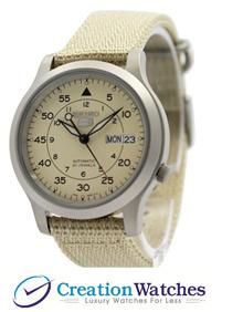 [CreationWatches] Seiko 5 Military Automatic Nylon Strap SNK803K2 Men s Watch