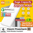 100% Authentic ★Xiaomi Powerbank 2C 20000mAh 2017 LATEST!!★  and other capacity +Free Gifts!