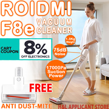 8% DISCOUNT COUPON *FREE ANTI DUST MITE Xiaomi Roidmi F8e handheld cordless vacuum cleaner