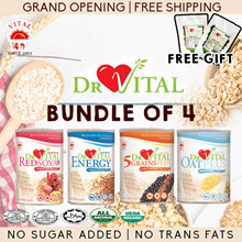 ❤GRAND OPENING❤DR VITAL❤ ★RED SOYA PLUS 500G★ENERGY500G★OAT PLUS 800G★5 GRAINS PLUS 800G★