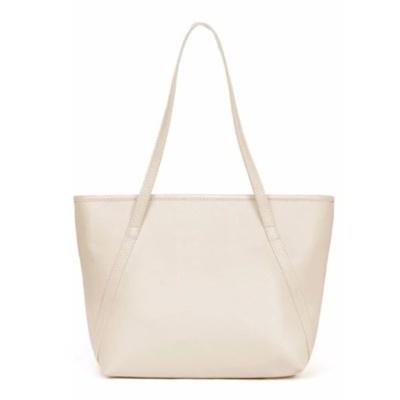 TAS WANITA WOMEN FASHION PU TOTE LEATHER HANDBAGS SHOULDER BAGS - MERAH. Source. ' Beige