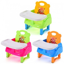 Foldable Portable Multi-function Children s Dining Chair Baby Stool