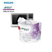 Philips Avent Microwave Sterilizing 5Pcs
