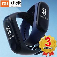 Xiaomi Mi Band 3 Fitness Tracker Heart Rate Monitor 0.78 OLED Touchpad Bluetooth 4.2 for Android IOS