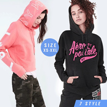 Women Sweatshirt Longsleeve_Hoodie_7 Style_Sweater_Winter Jacket LEX