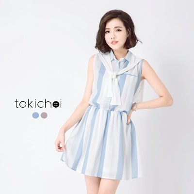 Dress 3-Light Blue