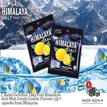 [restock] Himalaya Salt Candy 1/2/3/6/12 box whole sale bundle ( 1box = 12packs )