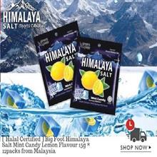 [restock] Himalaya Salt Candy 1/2/3/6/12 box whole sale bundle ( 1box = 12packs )