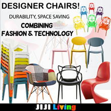 2018 Designer Chair Series ★Dining/Lounge/Gaming ★Wood/PU/PP ★Ergonomic ★Cafe ★Office